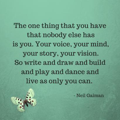 Neil Gaiman quote